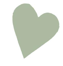 green heart tilted
