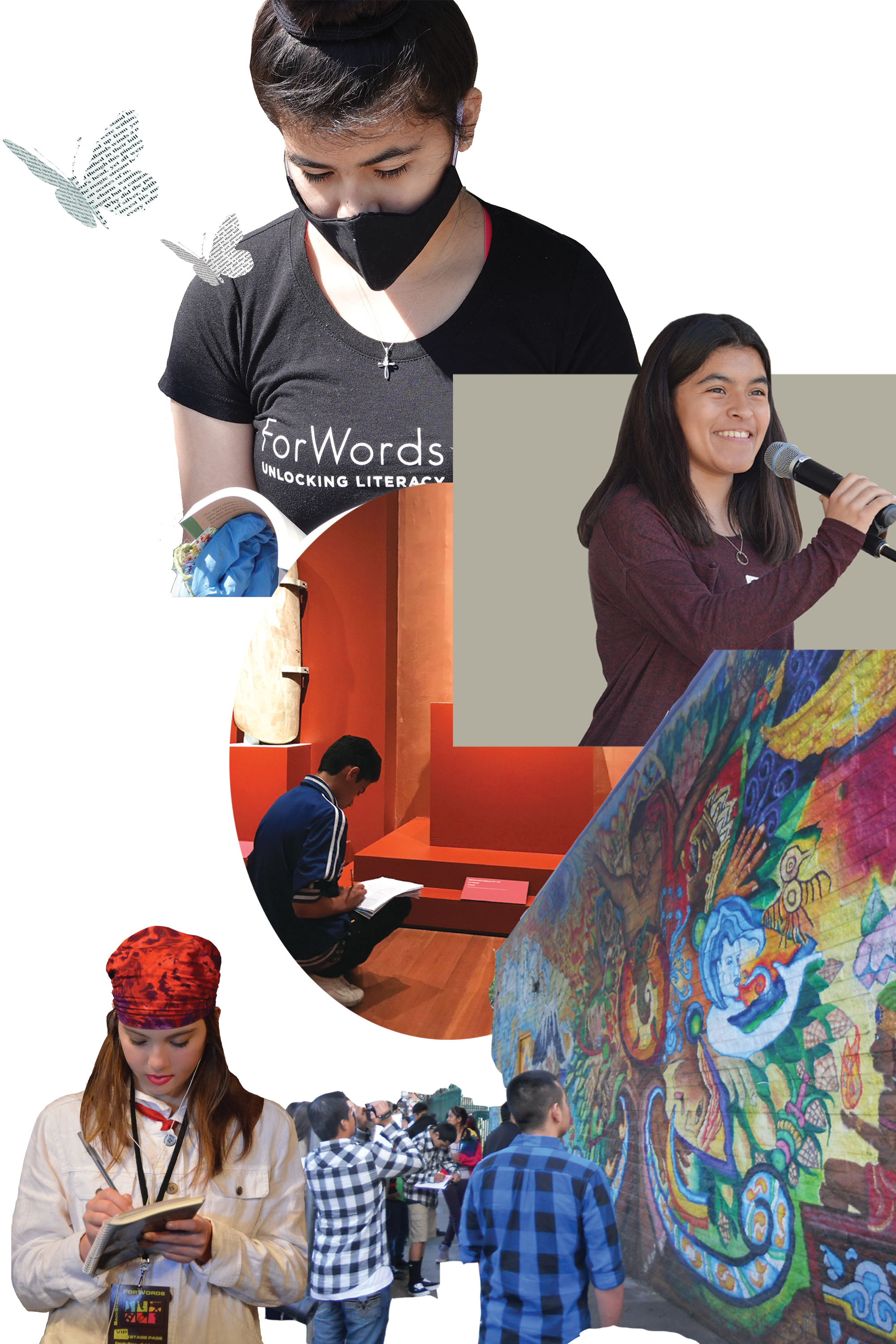 forwords students different locations