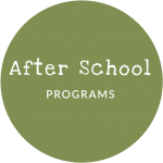 green circle, after school programs